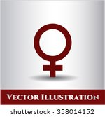 female icon or symbol | Shutterstock .eps vector #358014152