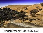 A Sand Dune Close To Wadi...