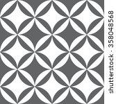 seamless geometric pattern... | Shutterstock .eps vector #358048568
