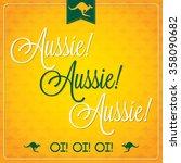 Elegant Typographic Australia...