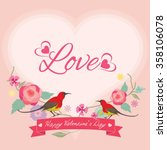 vector for lover invitation... | Shutterstock .eps vector #358106078