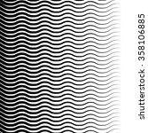 wavy  zigzag lines pattern.... | Shutterstock .eps vector #358106885