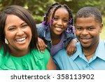 african american family. | Shutterstock . vector #358113902