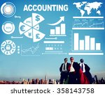 accounting investment... | Shutterstock . vector #358143758