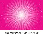 pink star background