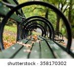 Park Bench Taken At The Seat...
