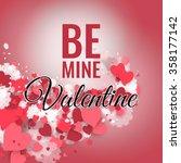 happy st. valentine's day ... | Shutterstock .eps vector #358177142