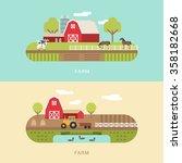 vector flat style illustration... | Shutterstock .eps vector #358182668