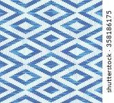 seamless aztec pattern vector... | Shutterstock .eps vector #358186175