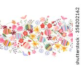 Seamless Easter Pattern Brush...