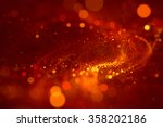 abstract background red bokeh... | Shutterstock . vector #358202186