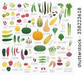 clip art food collection vol.2  ... | Shutterstock .eps vector #358223618
