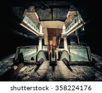 dramatic view of damaged... | Shutterstock . vector #358224176