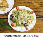 caesar salad | Shutterstock . vector #358271552