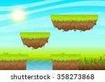 game background made from... | Shutterstock .eps vector #358273868