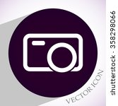 camera vector icon 10 eps | Shutterstock .eps vector #358298066