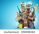 travel | Shutterstock . vector #358308182