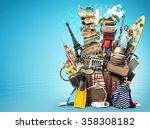 travel | Shutterstock . vector #358308182