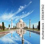 taj mahal in india | Shutterstock . vector #358369562