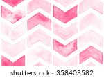 Pink Chevron With White...