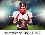 american football. | Shutterstock . vector #358411292