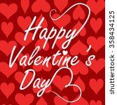 valentine day   Shutterstock .eps vector #358434125