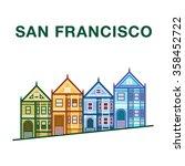 Colorful San Francisco Street...
