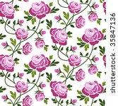 roses | Shutterstock .eps vector #35847136