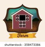 farm fresh design    Shutterstock .eps vector #358473386