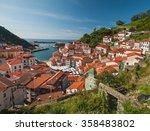 cudillero  spain   3 august ... | Shutterstock . vector #358483802