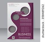 brochure design. flyer template.... | Shutterstock .eps vector #358489262