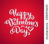 happy valentine's day card....   Shutterstock .eps vector #358493645