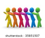 together | Shutterstock . vector #35851507