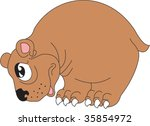 illustration of bear | Shutterstock .eps vector #35854972