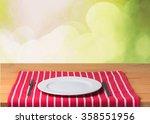 plate. | Shutterstock . vector #358551956