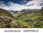 Mountains In Highland Scotland