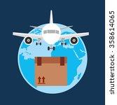 logistics service design    Shutterstock .eps vector #358614065