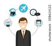 logistics service design    Shutterstock .eps vector #358614122