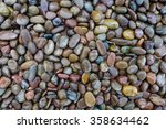 River Stone Background