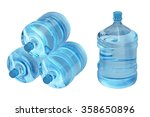 Plastic Bottles Of Water...