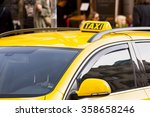 Small photo of Taxi cab stand, waiting for the trip. Taxi cab on call.