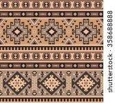 seamless ethnic pattern design | Shutterstock .eps vector #358688888