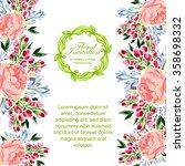 vintage delicate invitation... | Shutterstock .eps vector #358698332