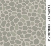 grey pebble seamless pattern.... | Shutterstock .eps vector #358760966