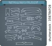 vector elements for design.... | Shutterstock .eps vector #358786928
