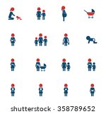 mother simply icons for web | Shutterstock .eps vector #358789652