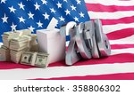price of the usa elections in... | Shutterstock . vector #358806302