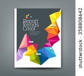 cover report trends colorful... | Shutterstock .eps vector #358808642