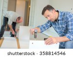 putting together flap pack... | Shutterstock . vector #358814546