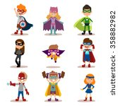 Superhero Kids Boys And Girls...